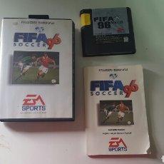 Videojuegos y Consolas: FIFA SOCCER 96 (COMPLETO) MEGA DRIVE. Lote 78453450