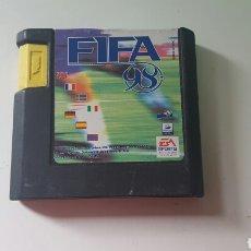 Videojuegos y Consolas: FIFA SOCCER 98 (SOLO CARTUCHO) MEGA DRIVE. Lote 78454463