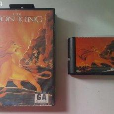 Videojuegos y Consolas: THE LION KING (SIN CARTUCHO) MEGA DRIVE. Lote 78455039