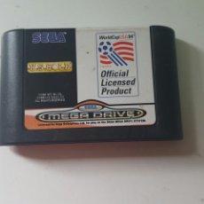 Videojuegos y Consolas: WORLD CUP USA 94 (SOLO CARTUCHO) MEGA DRIVE. Lote 78455307