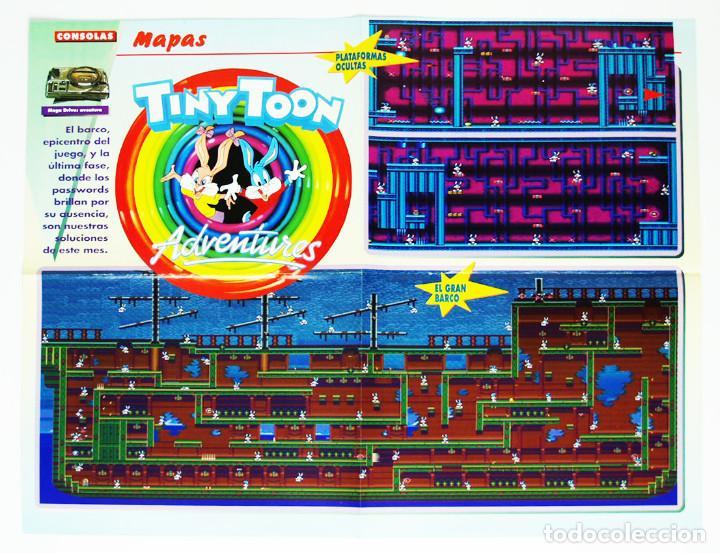Mapa Tiny Toons Adventures Megadrive De La Revi Comprar