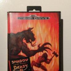 Videojuegos y Consolas: SHADOW OF THE BEAST II JUEGO MEGA DRIVE ( SEGA ). Lote 80668354