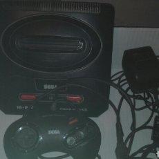 Videojuegos y Consolas: SEGA MEGADRIVE 2 FUNCIONA. Lote 81216236