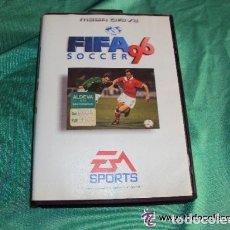 Videojuegos y Consolas: JUEGO FIFA 96 DE MAGADRIVE MEGA DRIVECON SU CAJA.SIN MANUAL DE INSTRUCCIONES. Lote 81217828