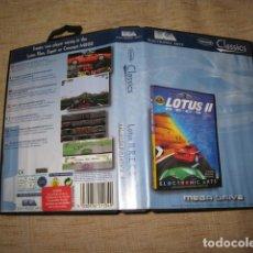 Videojuegos y Consolas: LOTUS II PARA MEGADRIVE COMPLETO. Lote 81289180