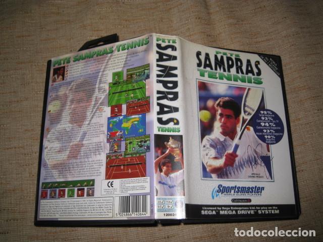PETE SAMPRAS TENNIS TENIS SEGA MEGA DRIVE PAL MEGADRIVE (Juguetes - Videojuegos y Consolas - Sega - MegaDrive)