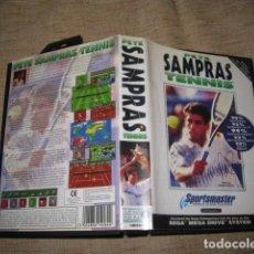 Videojuegos y Consolas: PETE SAMPRAS TENNIS TENIS SEGA MEGA DRIVE PAL MEGADRIVE. Lote 81290260