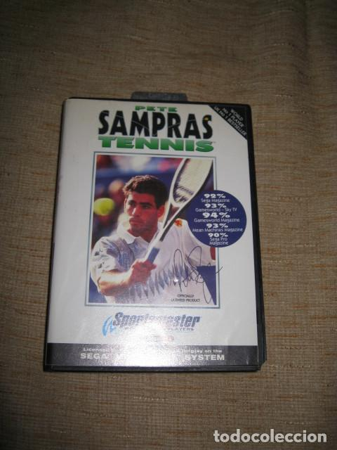 Videojuegos y Consolas: PETE SAMPRAS TENNIS TENIS SEGA MEGA DRIVE PAL MEGADRIVE - Foto 3 - 81290260