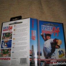 Videojuegos y Consolas: R.B.I BASEBALL 94. Lote 81291372