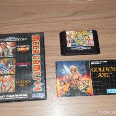 Videojuegos y Consolas: GOLDEN AXE , STREETS OF RAGE Y REVENGE OF SHINOBI 3 JUEGOS SEGA MEGADRIVE MEGA DRIVE PAL ESPAÑA. Lote 147255300