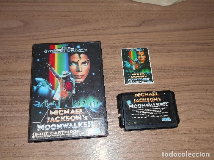 MICHAEL JACKSON'S MOONWALKER JUEGO SEGA MEGADRIVE JAP MEGA DRIVE (Juguetes - Videojuegos y Consolas - Sega - MegaDrive)