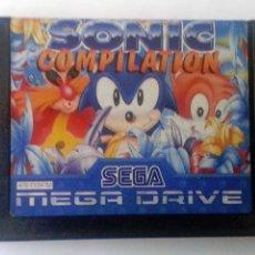 Videojuegos y Consolas: SONIC COMPILATIONS MEGADRIVE. Lote 83291520