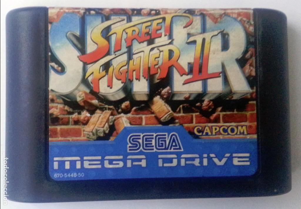 SUPER STREET FIGHTER II MEGADRIVE (Juguetes - Videojuegos y Consolas - Sega - MegaDrive)
