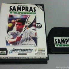 Videojuegos y Consolas: PETE SAMPRAS TENNIS MEGADRIVE PAL/ESPAÑA. Lote 83581052