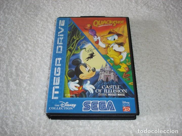 Juegos Sega Megadrive Mega Drive Castle Of Ill Comprar