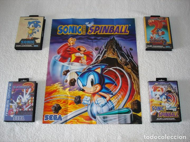 Juegos Sega Megadrive Mega Drive Sonic 1 2 3 Y Comprar