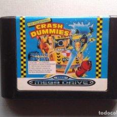 Video Games and Consoles - JUEGO SEGA MEGA DRIVE THE INCREDIBLE CRASH DUMMIES PAL SOLO CARTUCHO R6167 - 86096816