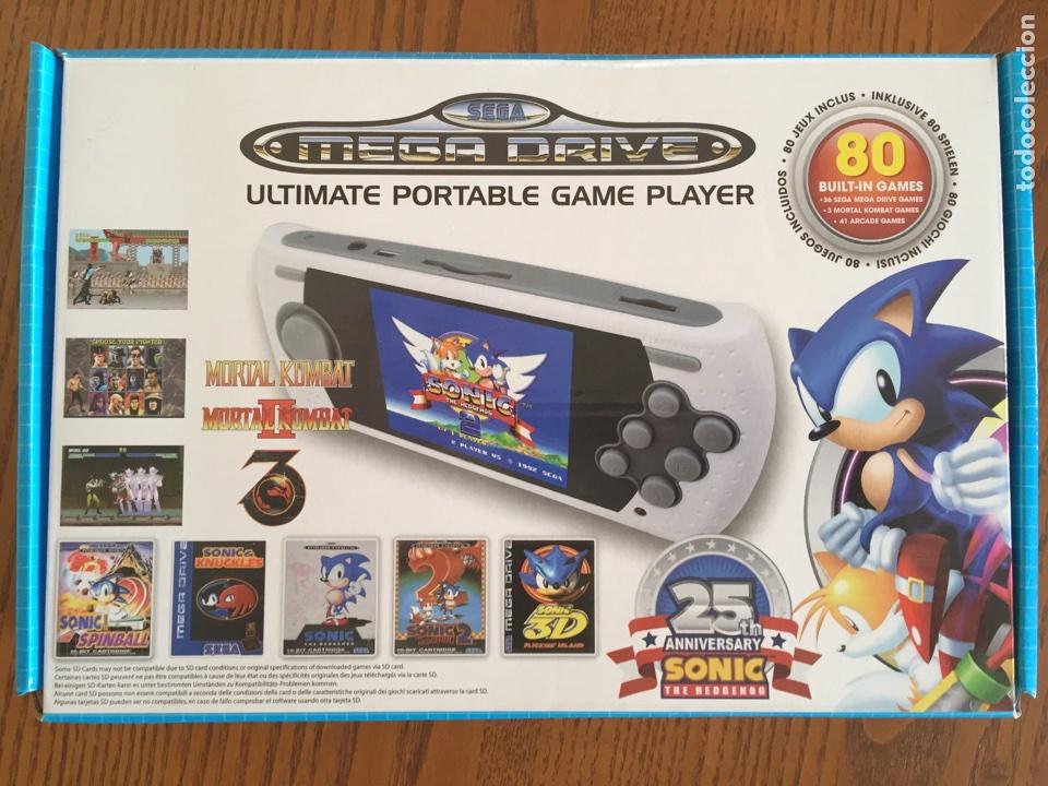 Sega Mega Drive Portatil Con 80 Juegos Tarjet Comprar