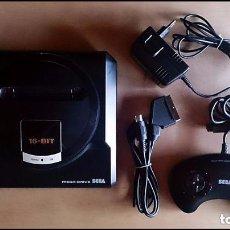 Videojuegos y Consolas: CONSOLA / SEGA MEGA DRIVE MEGADRIVE 16 BITS PAL 1990 (CON 1 MANDO, CONEXION SCART PARA TV Y 1 JUEGO). Lote 142736569