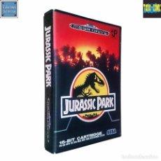 Videojuegos y Consolas: JURASSIC PARK / PARQUE JURÁSICO / JUEGO MEGA DRIVE MEGADRIVE / PAL / SEGA 1993. Lote 88318532