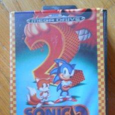 Videojuegos y Consolas: SONIC 2. THE HEDGEHOG. SEGA MEGADRIVE. Lote 89386044