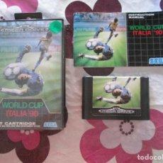Videojuegos y Consolas: WORLD CUP ITALIA ´90 MEGADRIVE. Lote 90301968
