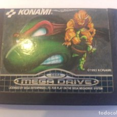 Videojuegos y Consolas: TURTLES TOURNAMENT FIGHTERS SEGA MEGADRIVE MEGA DRIVE VERSION PAL. Lote 91370820