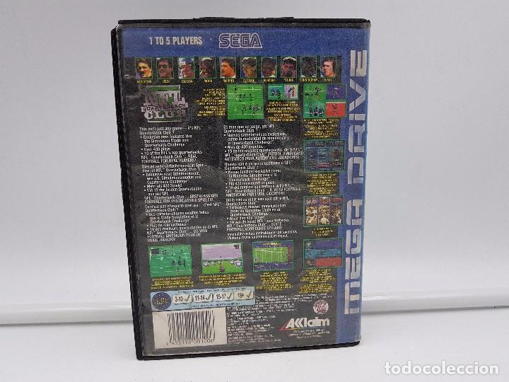 Videojuegos y Consolas: NFL QUARTERBACK CLUB PAL SEGA MEGA DRIVE .COMBINO ENVIO - Foto 2 - 92803475