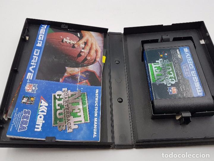 Videojuegos y Consolas: NFL QUARTERBACK CLUB PAL SEGA MEGA DRIVE .COMBINO ENVIO - Foto 5 - 92803475