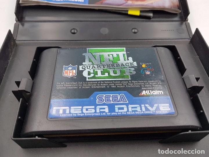 Videojuegos y Consolas: NFL QUARTERBACK CLUB PAL SEGA MEGA DRIVE .COMBINO ENVIO - Foto 6 - 92803475