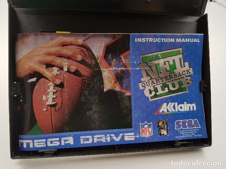 Videojuegos y Consolas: NFL QUARTERBACK CLUB PAL SEGA MEGA DRIVE .COMBINO ENVIO - Foto 8 - 92803475