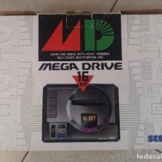 Videojuegos y Consolas: SEGA MEGADRIVE NTSC-JAP JAPONESA CON CAJA , MANDO Y CABLES. Lote 94727327
