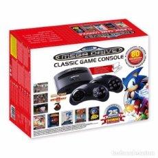 Videojuegos y Consolas: CONSOLA MEGADRIVE CON 80 JUEGOS Y RANURA CARTUCHOS NUEVA. Lote 95653347