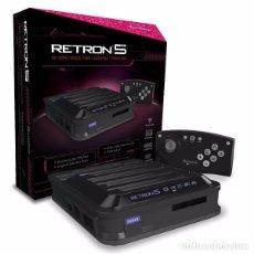 Videojuegos y Consolas: CONSOLA RETRON 5 NEGRA NUEVA Y PRECINTADA. Lote 95653923