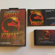 Videojuegos y Consolas: MORTAL KOMBAT MEGA DRIVE . Lote 95707626