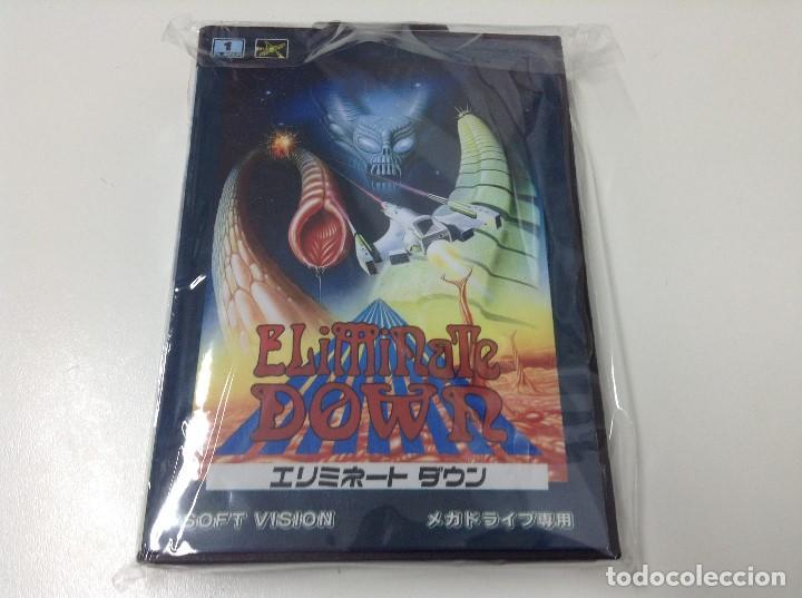 ELIMINATE DOWN (Juguetes - Videojuegos y Consolas - Sega - MegaDrive)
