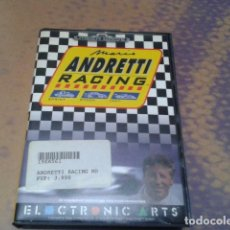 Videojuegos y Consolas: JUEGO SEGA MEGA DRIVE ( MARIO ANDRETTI RACING ) 1994 INSTRUCIONES EN CASTLLANO - 2 PLAYERS COMPLETO. Lote 97387695