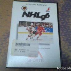 Videojuegos y Consolas: JUEGO SEGA MEGA DRIVE ( NHL 96 ) EM SPORTS - INSTRUCIONES EN CASTELLANO DE 1995 COMPLETO. Lote 97388511