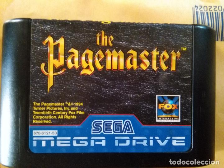 JUEGO CARTUCHO SEGA MEGA DRIVE EL GUARDIIAN DE LAS PALABRAS - THE PAGEMASTER (Juguetes - Videojuegos y Consolas - Sega - MegaDrive)