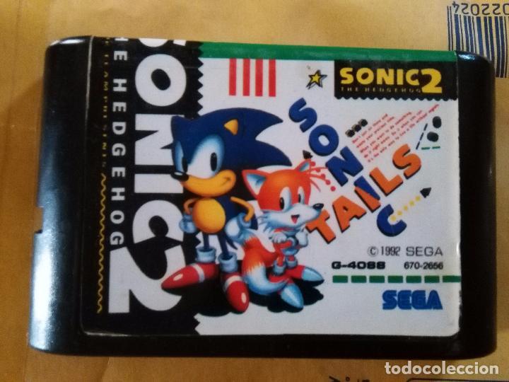 JUEGO CARTUCHO SEGA MEGA DRIVE SONIC 2 - 1992 G-4088 (Juguetes - Videojuegos y Consolas - Sega - MegaDrive)