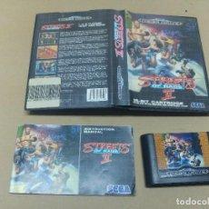 Videojuegos y Consolas: STREETS OF RAGE 2 IISEGA MEGADRIVE COMPLETE PAL-EUROPE. Lote 98098247