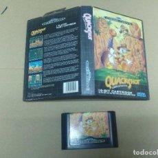 Videojuegos y Consolas: QUACKSHOT SEGA GENESIS MEGADRIVE VERSION PAL. Lote 98098467