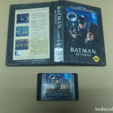 Videojuegos y Consolas: BATMAN RETURNS SEGA MEGADRIVE VERSION PAL . Lote 98098591