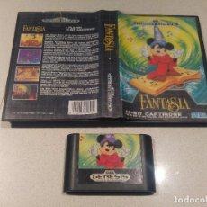 Videojuegos y Consolas: FANTASIA SEGA GENESIS MEGADRIVE VERSION USA COMPATIBLE. Lote 98099743
