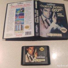Videojuegos y Consolas: JAMES BOND 007 THE DUEL SEGA GENESIS MEGADRIVE VERSION USA COMPATIBLE. Lote 98099831