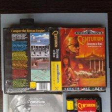 Videojuegos y Consolas: JUEGO SEGA MEGA DRIVE CENTURION DEFENDER OF ROME COMPLETO BOXED CIB PAL R6664. Lote 98194435