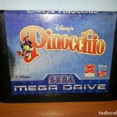 Video Games and Consoles - PINOCCHIO PARA LA SEGAMEGADRIVE - SEGA MEGADRIVE - SEGA MEGA DRIVE - 98716883