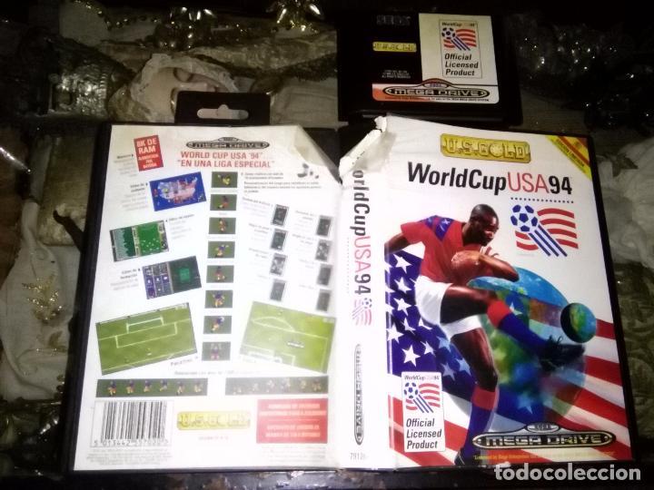 SEGA JUEGO MEGA DRIVE MEGADRIVE CARTUCHO ORIGINAL - WORLDCUP USA 94 (SEGA MEGA DRIVE (Juguetes - Videojuegos y Consolas - Sega - MegaDrive)
