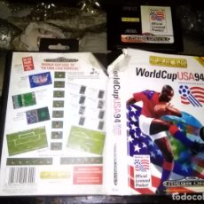 Videojuegos y Consolas: SEGA JUEGO MEGA DRIVE MEGADRIVE CARTUCHO ORIGINAL - WORLDCUP USA 94 (SEGA MEGA DRIVE. Lote 98779535