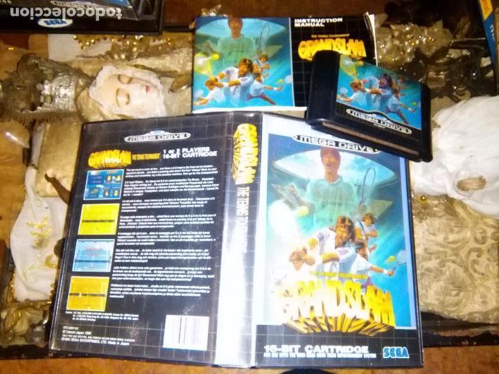 SEGA JUEGO MEGADRIVE CARTUCHO MEGA DRIVE - GRAND SLAM THE TENNIS TOURNEMENT TENIS (Juguetes - Videojuegos y Consolas - Sega - MegaDrive)
